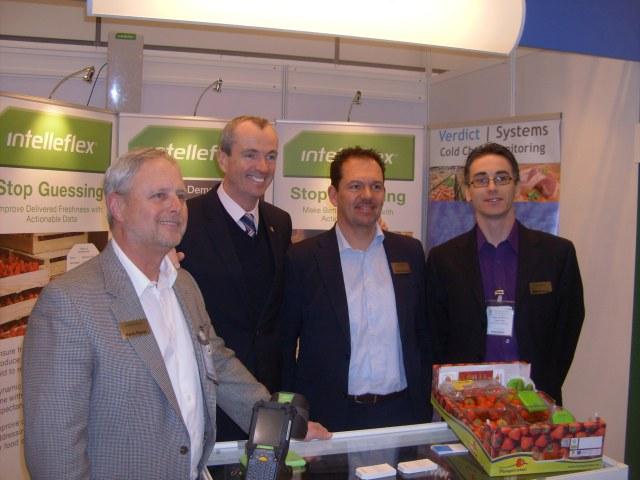 Kevin Payne, US Ambassador Philip Murphy, Erik Cotman and Stephen Dunphy