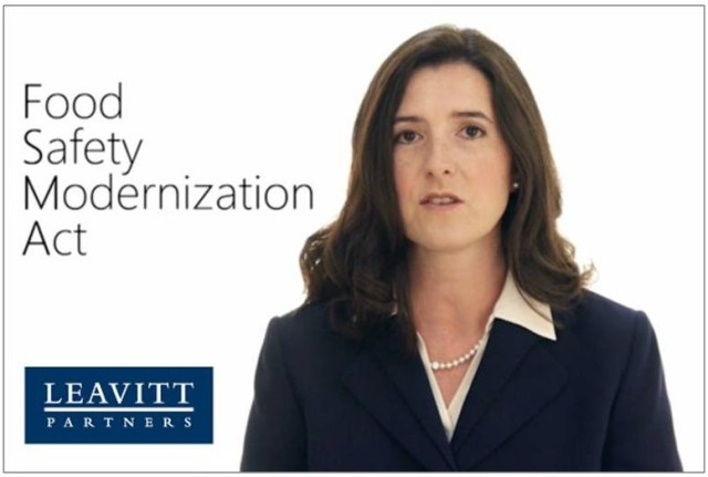 Leavitt Partners' Jennifer McEntire explains the recent FDA report on FSMA pilots in a short video...well worth the watch!
